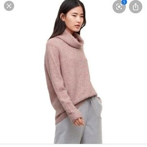 The group babaton plutarch turtleneck. Pink
